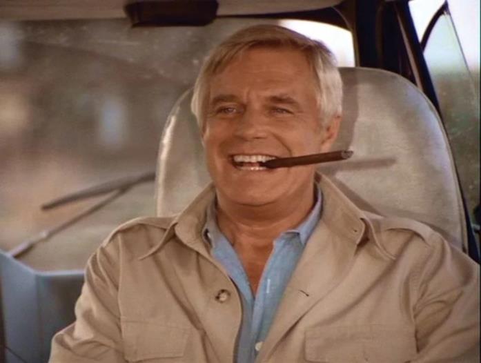 Hannibal, personaggio interpretato da George Peppard