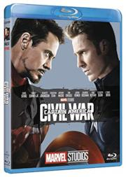 Captain America Civil War 10° Anniversario Marvel Studios (Blu Ray)