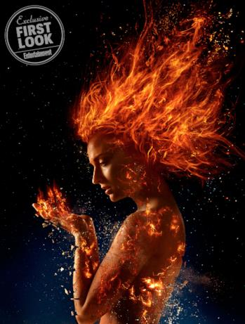 Sophie Turner nei panni di Jean Grey in Dark Phoenix