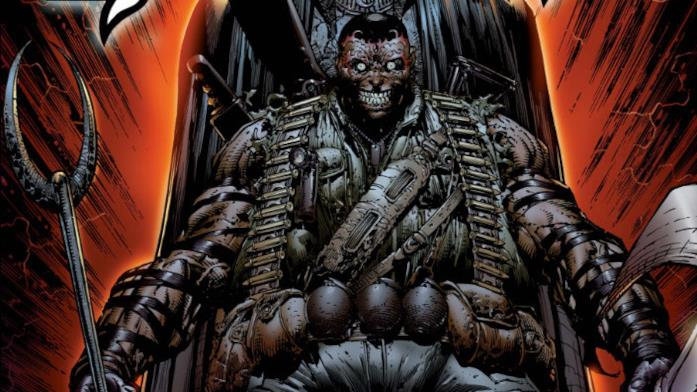 Bushman in una illustrazione tratta da un albo Marvel