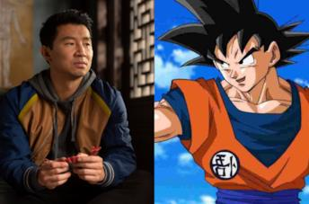 Shang-Chi e Goku