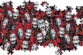 La casa di carta, stranger things e altri puzzle ispirati alle serie TV