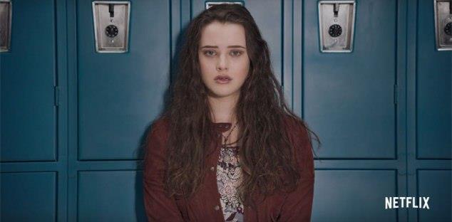 Katherine Langford nella serie TV Netflix conosciuta in Italia come Tredici
