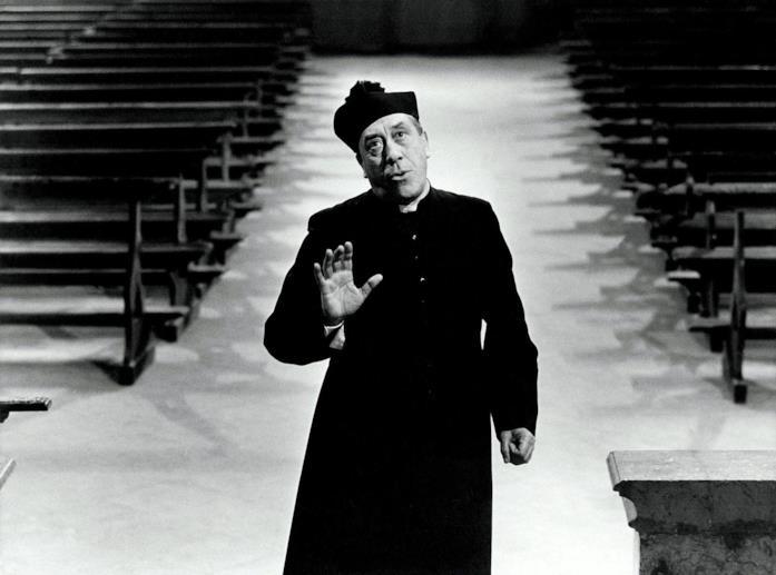 Una scena di Don Camillo