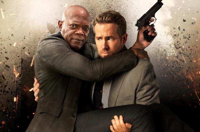 Ryan Reynolds e Samuel L. Jackson nelle vesti di Michael Bryce Darius Kincaid