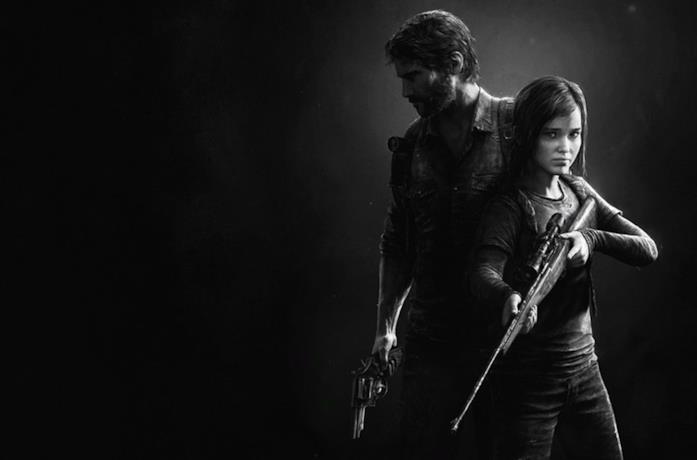 Joel ed Ellie in The Last of Us
