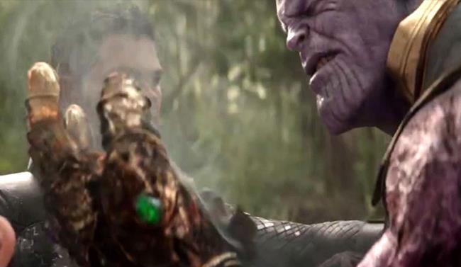 Thanos e il suo guanto