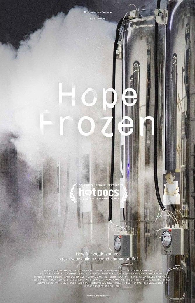 La locandina del documentario Hope Frozen