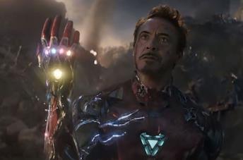 Iron Man in Avengers: Endgame