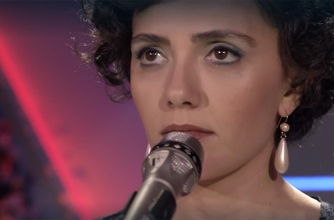 Serena Rossi è Mia Martini nel film Io sono Mia