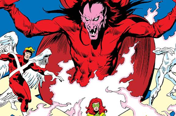 Dettaglio della cover di Mephisto Vs. The X-Factor