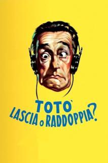 Poster Totò, lascia o raddoppia?