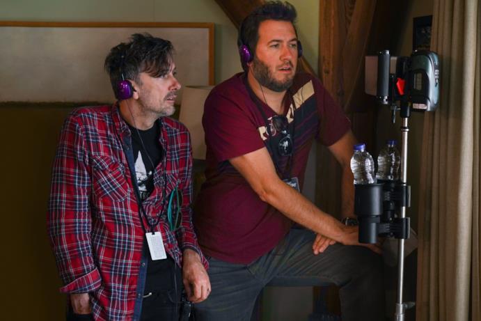 Kevin Kölsch e Dennis Widmyer durante le riprese di Pet Sematary