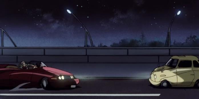 L'auto di Lupin in Cowboy Bebop