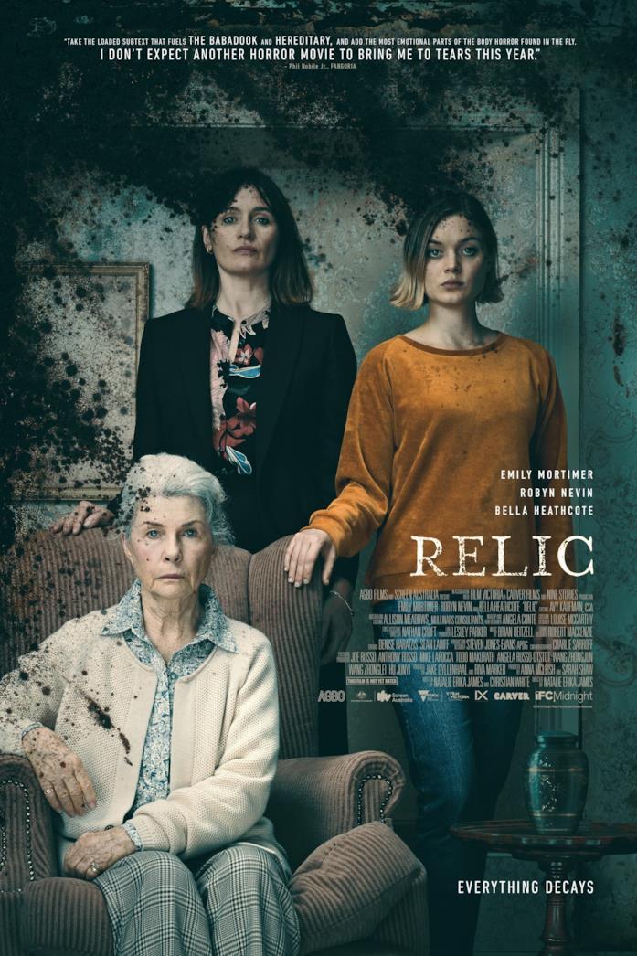 Il poster di Relic