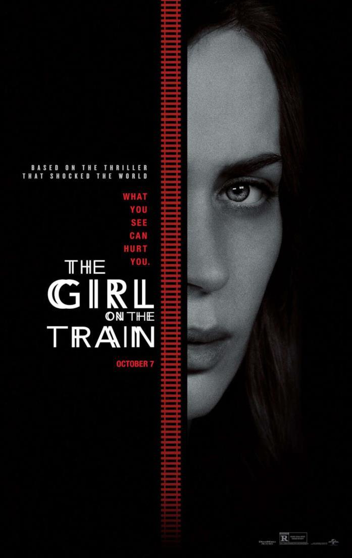 la ragazza del treno poster