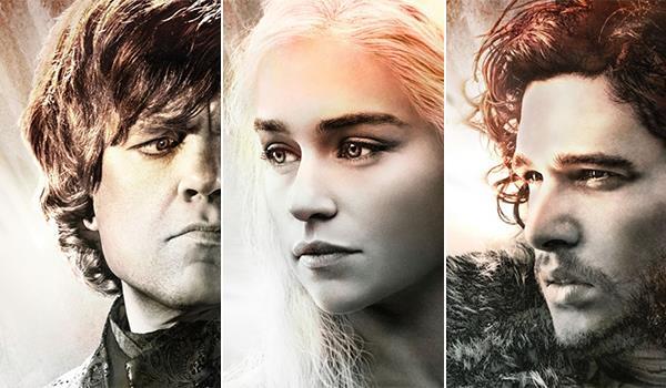 Alcuni dei protagonisti di Game of Thrones