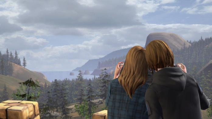 Le due protagoniste di Life is Strange: Before the Storm