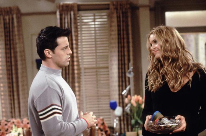 Janine Lacroix in una scena di Friends