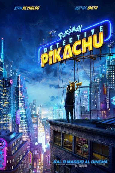 Poster Pokémon Detective Pikachu