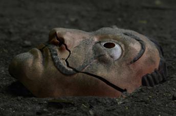 La maschera de La casa di carta