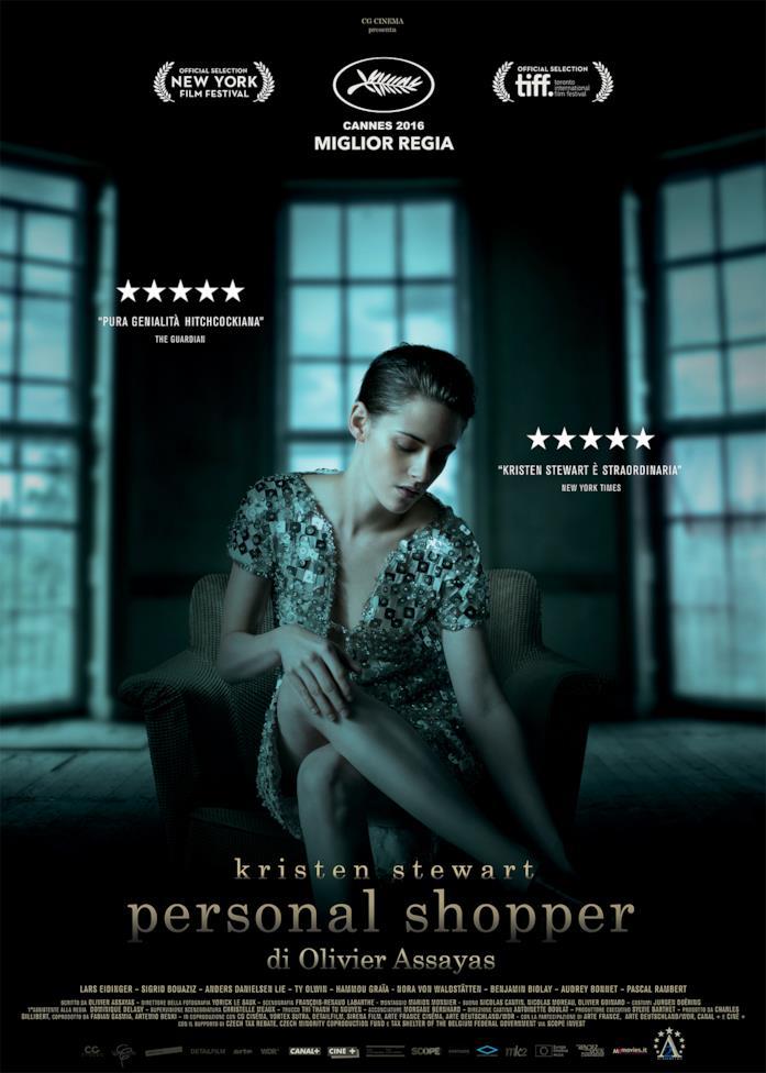 Kristen Stewart nel poster italiano di Personal Shopper