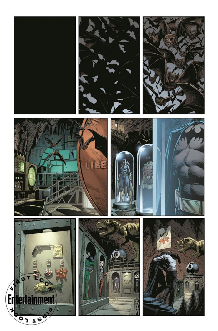 Batman è ferito nell'anteprima di Batman: Three Jokers