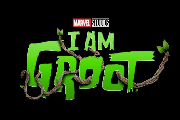 Il logo della serie I Am Groot