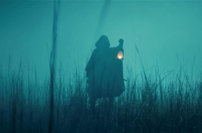 La variante fuggitiva con una lanterna