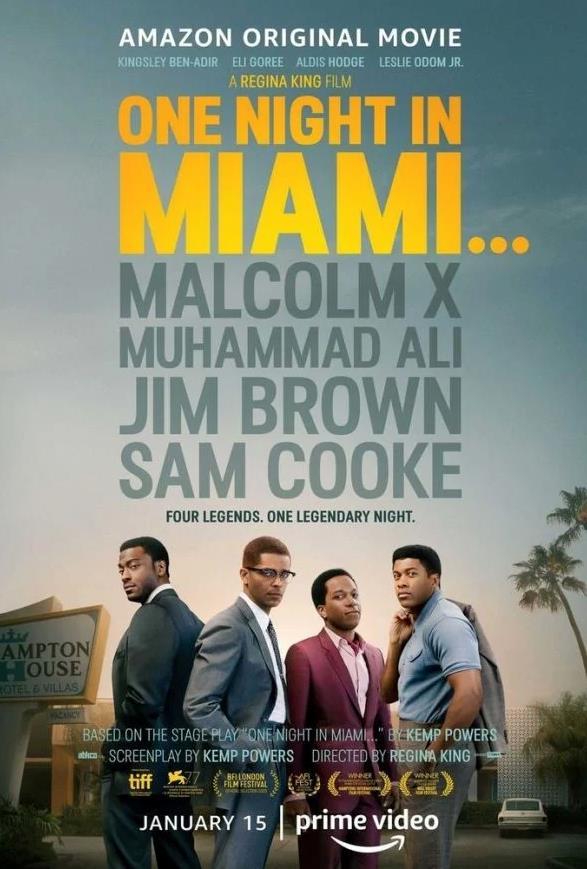 One Night in Miami - poster del film
