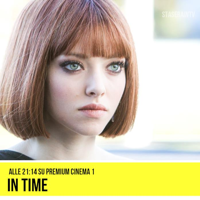 giovedì 29 ottobre alle 21.14 Premium Cinema 1 In Time