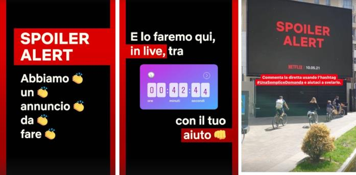 Netflix rivela Una semplice domanda, lo show di Cattelan, con un'operazione di marketing