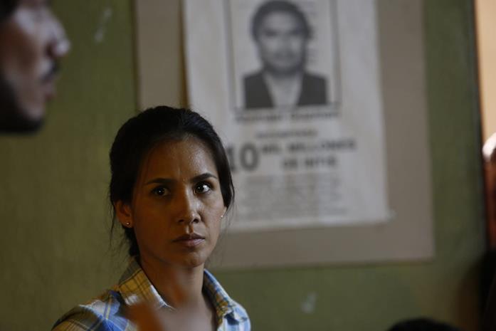 Nidia Bermejo in una scena del film La hora final