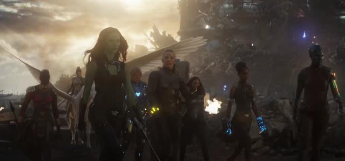 Gamora e le donne del MCU