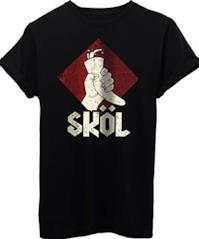 T-Shirt Vikings Skol