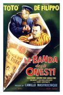 Poster La banda degli onesti