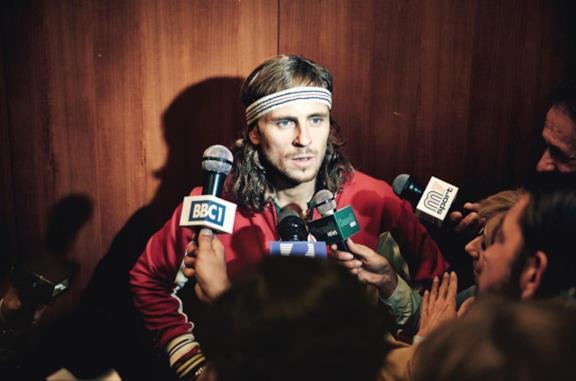Sverrir Gudnason è Bjorn Borg nel film di Janus Metz