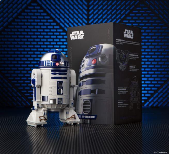 L'immagine promozionale dell'R2-D2 di Sphero
