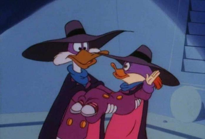 Ocalina segue Darkwing Duck in molte delle sue avventure