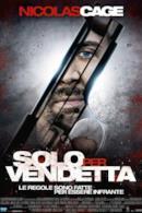 Poster Solo per vendetta