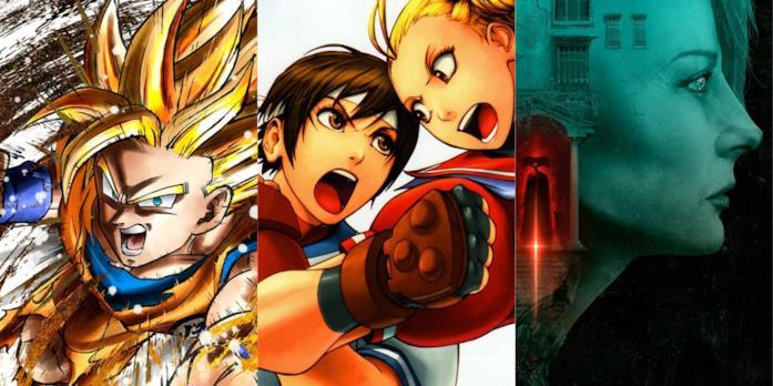 Artwork ufficiali per Street Fighter V, Remothered e Dragon Ball FighterZ