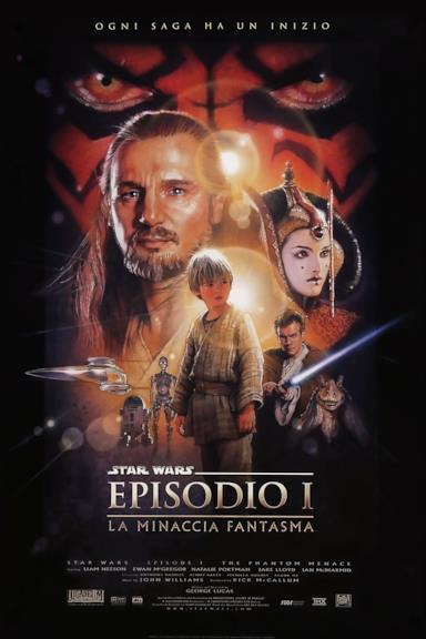 Poster Star Wars: Episodio I - La minaccia fantasma