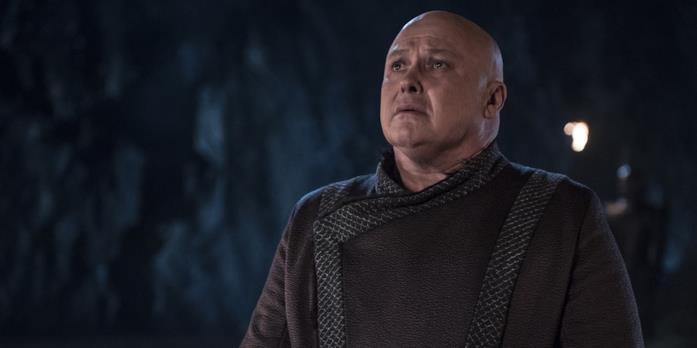 Varys affronta la sua morte in GoT 8