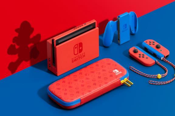 Nintendo Switch speciale per Super Mario