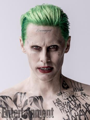 Il character poster del Joker (Jared Leto) in Suicide Squad
