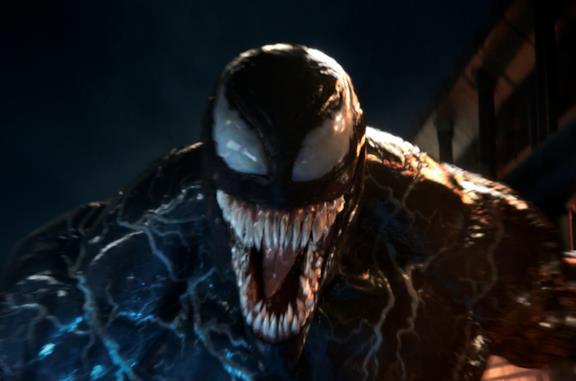 Poster di Venom coi protagonisti