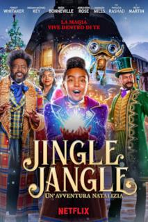 Poster Jingle Jangle: Un'avventura natalizia