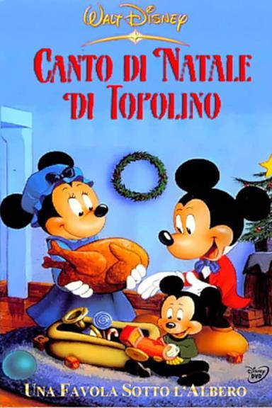 Poster Canto di Natale di Topolino