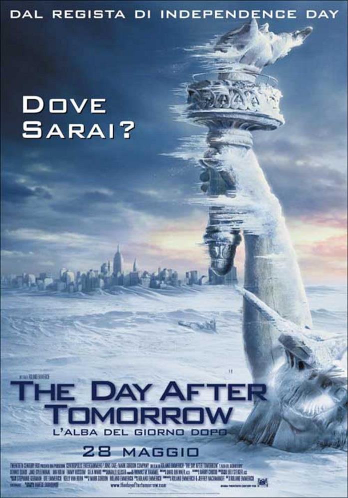 Il poster di The Day After Tomorrow - L'alba del giorno dopo