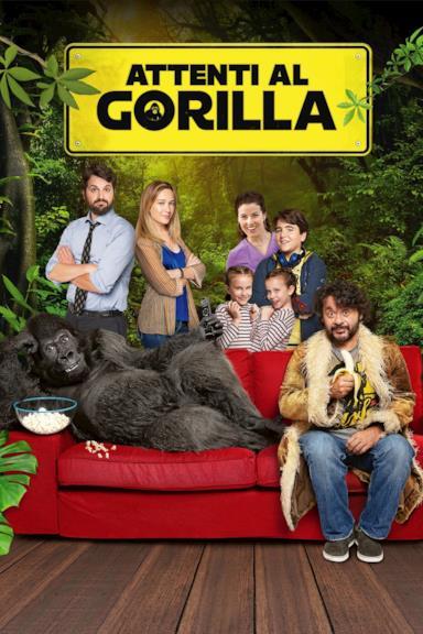Poster Attenti al gorilla